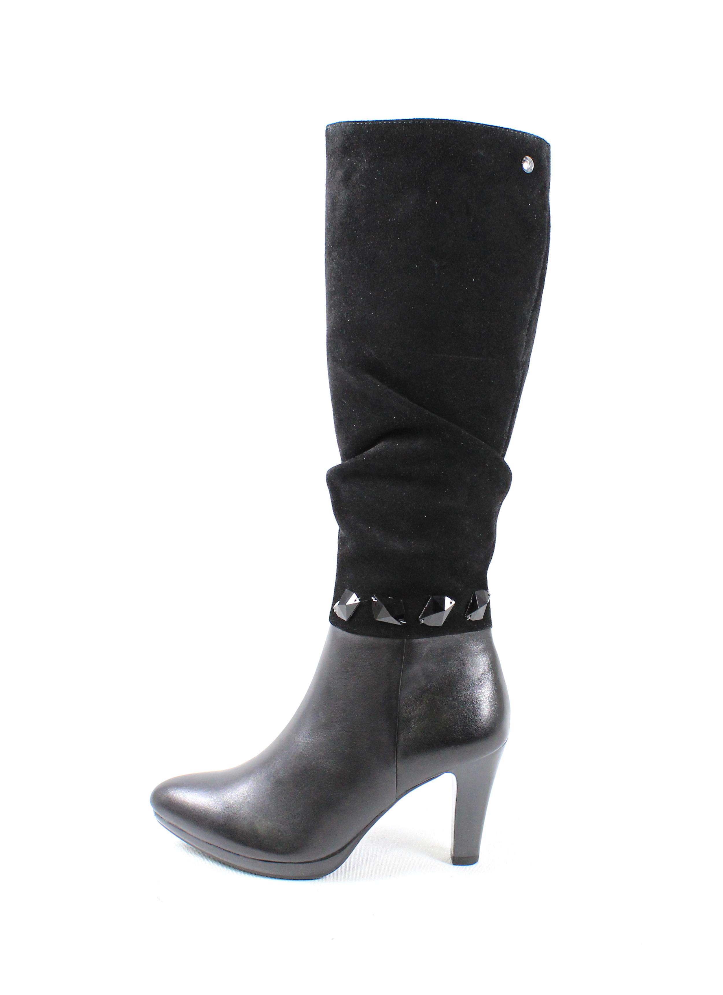 5d873d5619b4 Dámske čižmy CAPRICE 9-25534-21 BLACK COMB – Topánky Olympia shoes