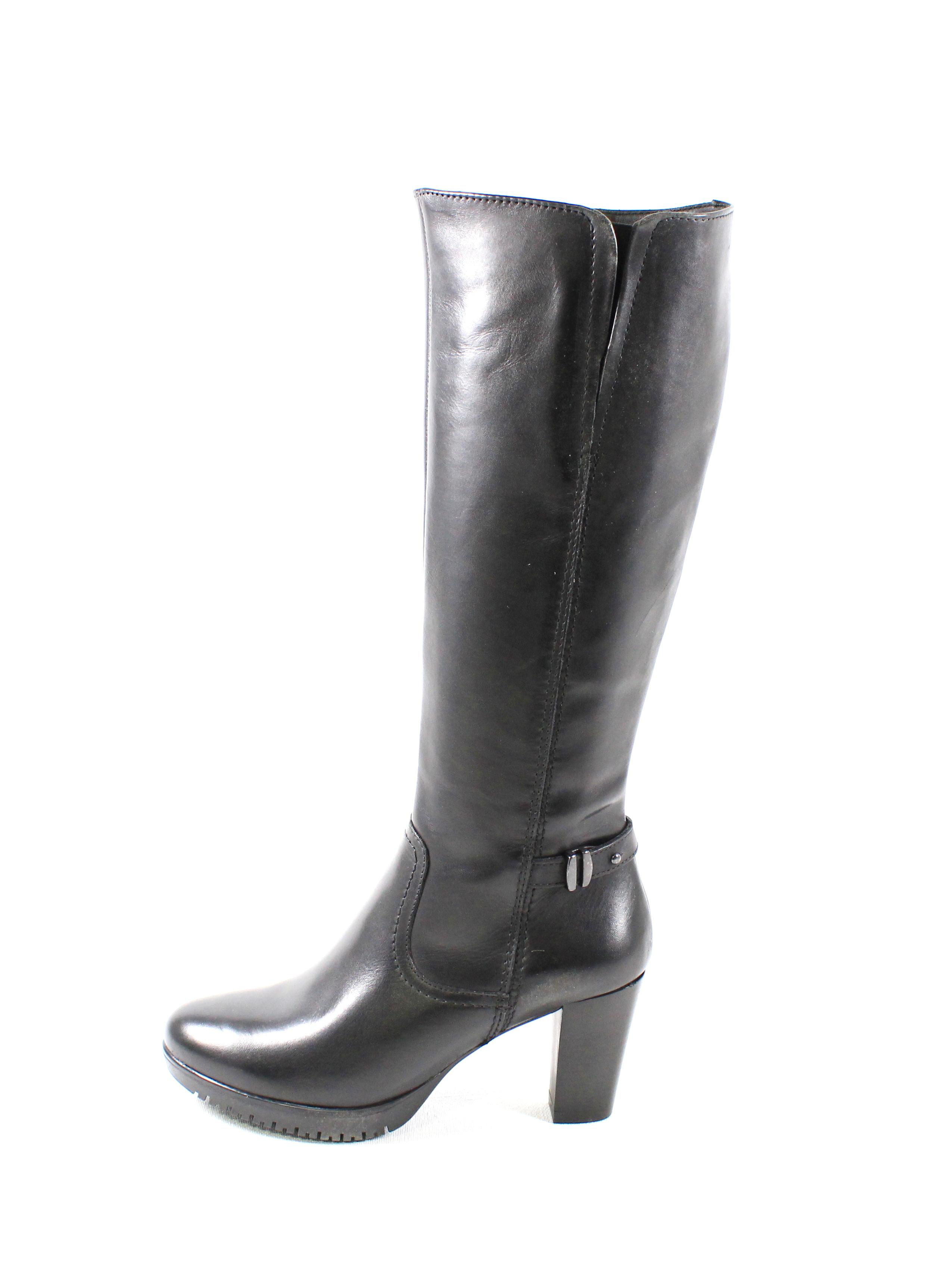Dámske čižmy TAMARIS 1-2530-21 BLACK – Topánky Olympia shoes d56e7c5e1ce