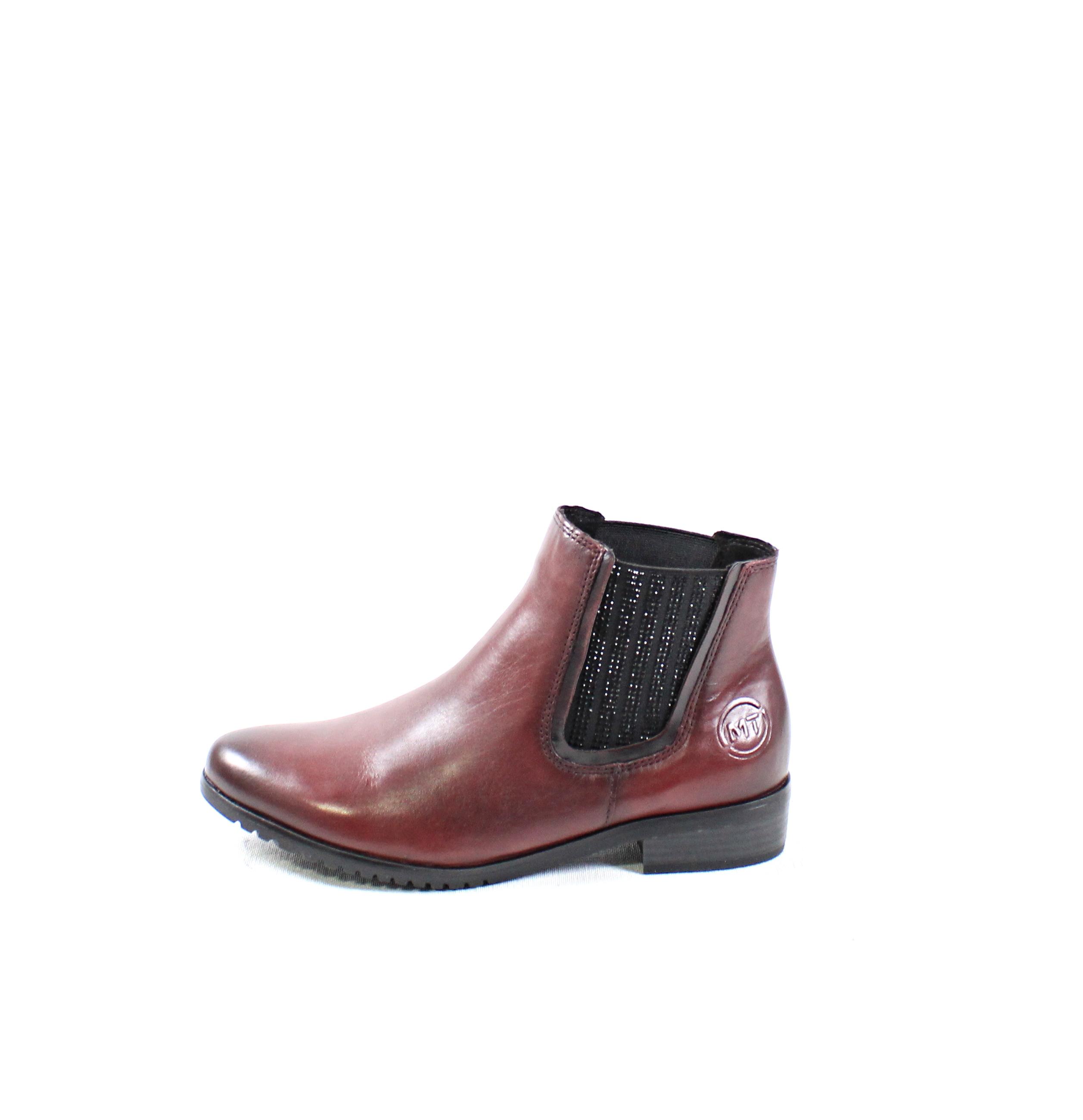 6062aca4c220 Dámske členkové čižmy MARCO TOZZI 2-25384-21 BORDEAUX – Topánky ...