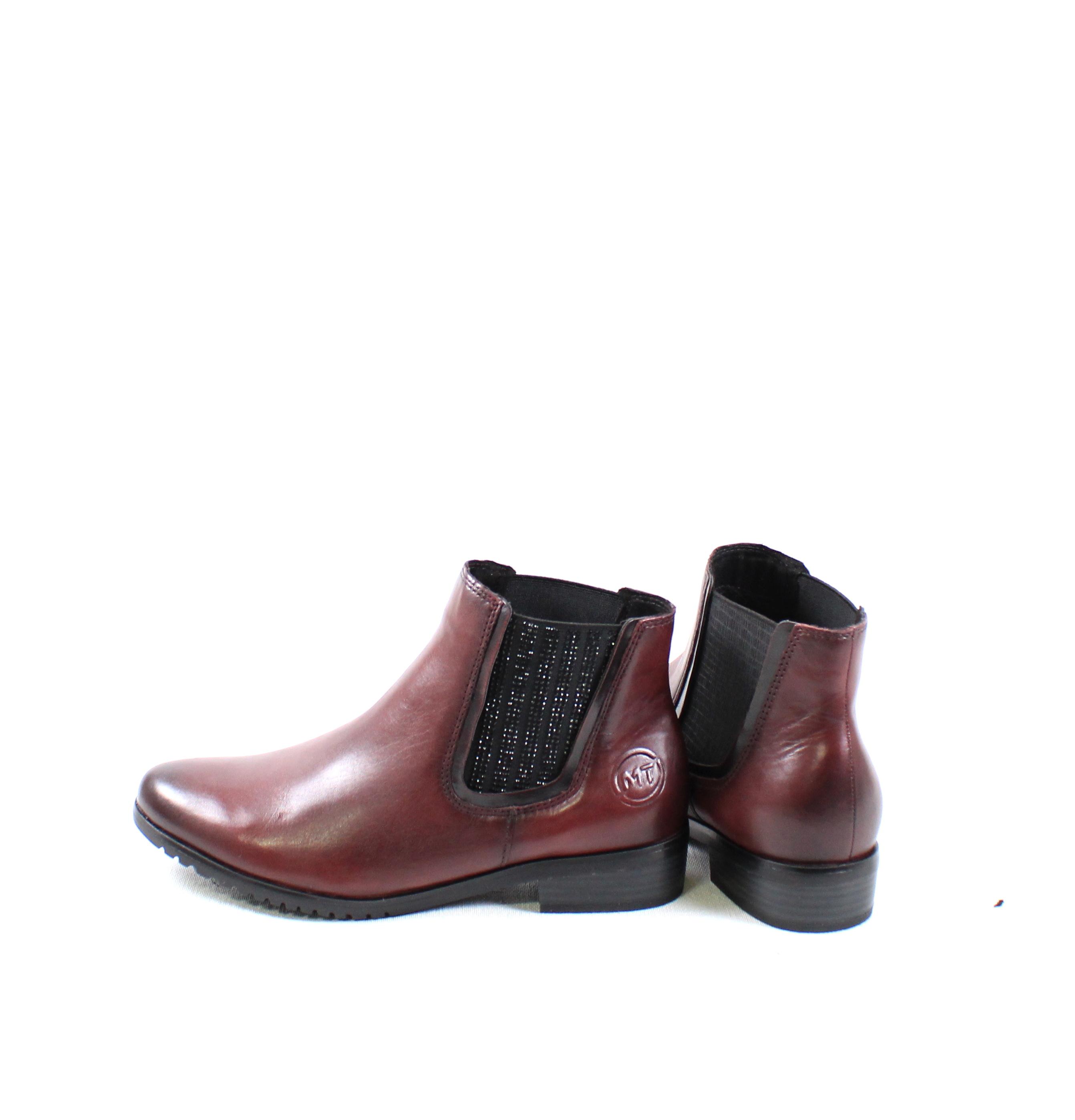 c150ede5a02e Dámske členkové čižmy MARCO TOZZI 2-25384-21 BORDEAUX – Topánky ...
