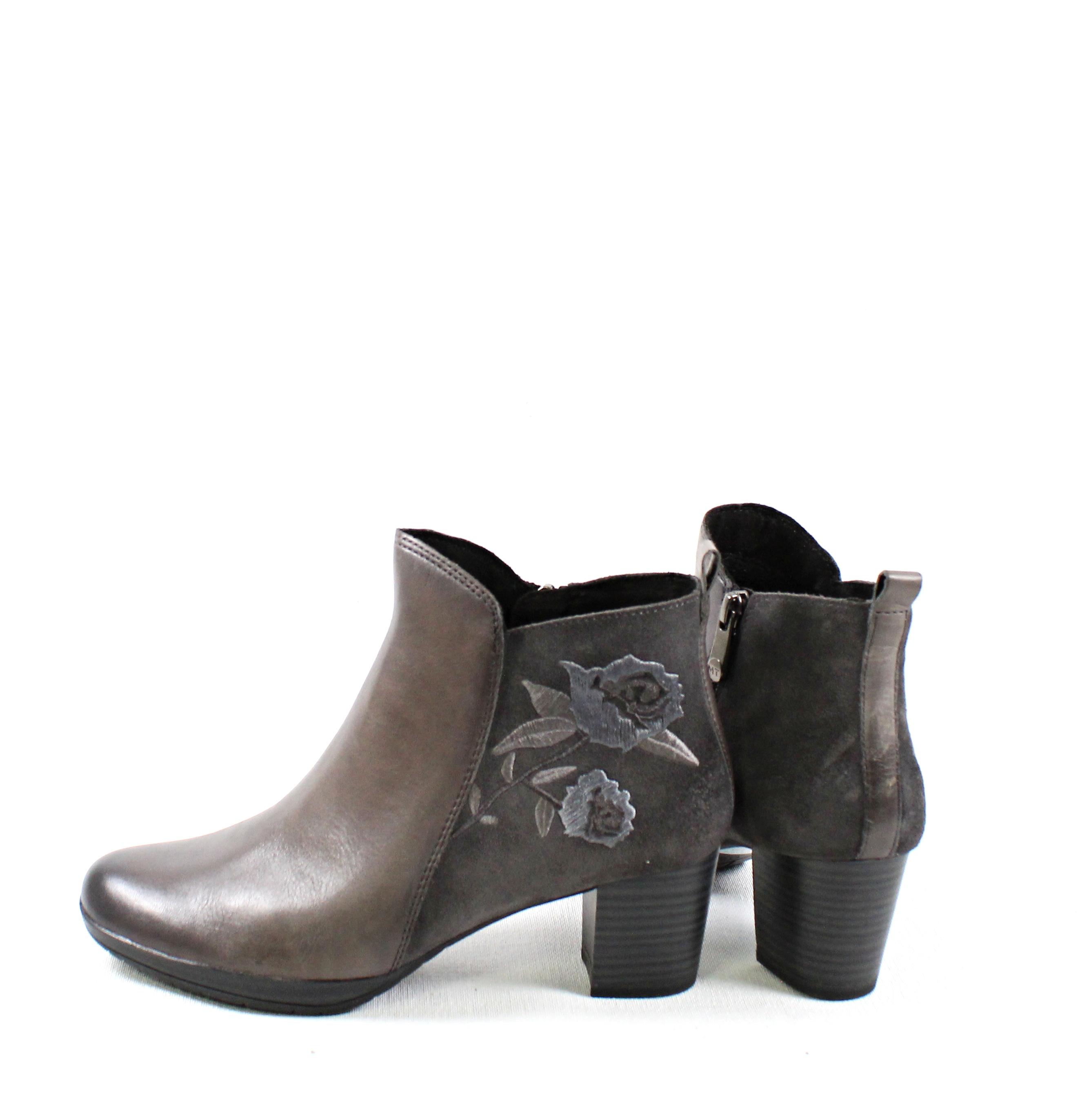 bd0742aa81ca Dámske členkové čižmy MARCO TOZZI 2-25319-21 DK GREY – Topánky ...
