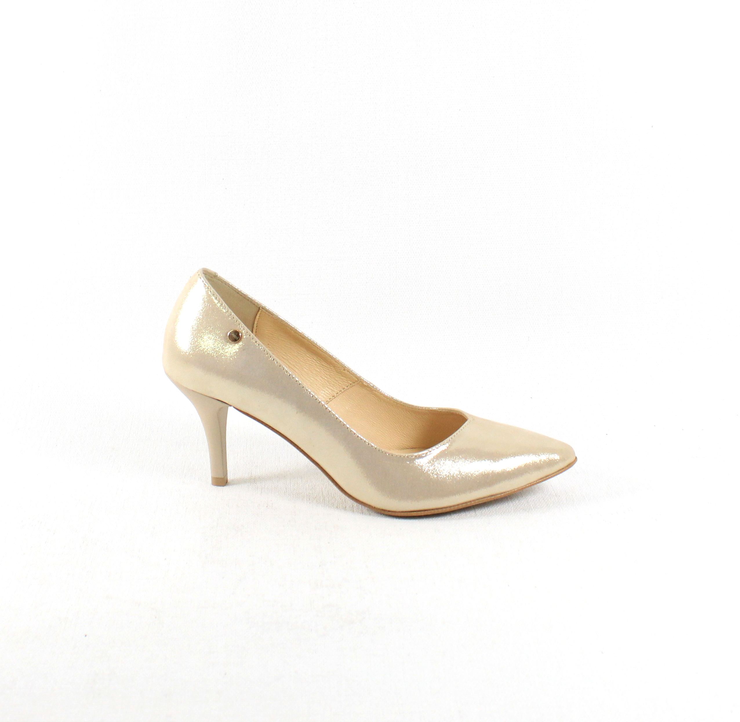 7d0622a937 Dámske lodičky CLAUDIO DESSI 5483 ZLATE – Topánky Olympia shoes