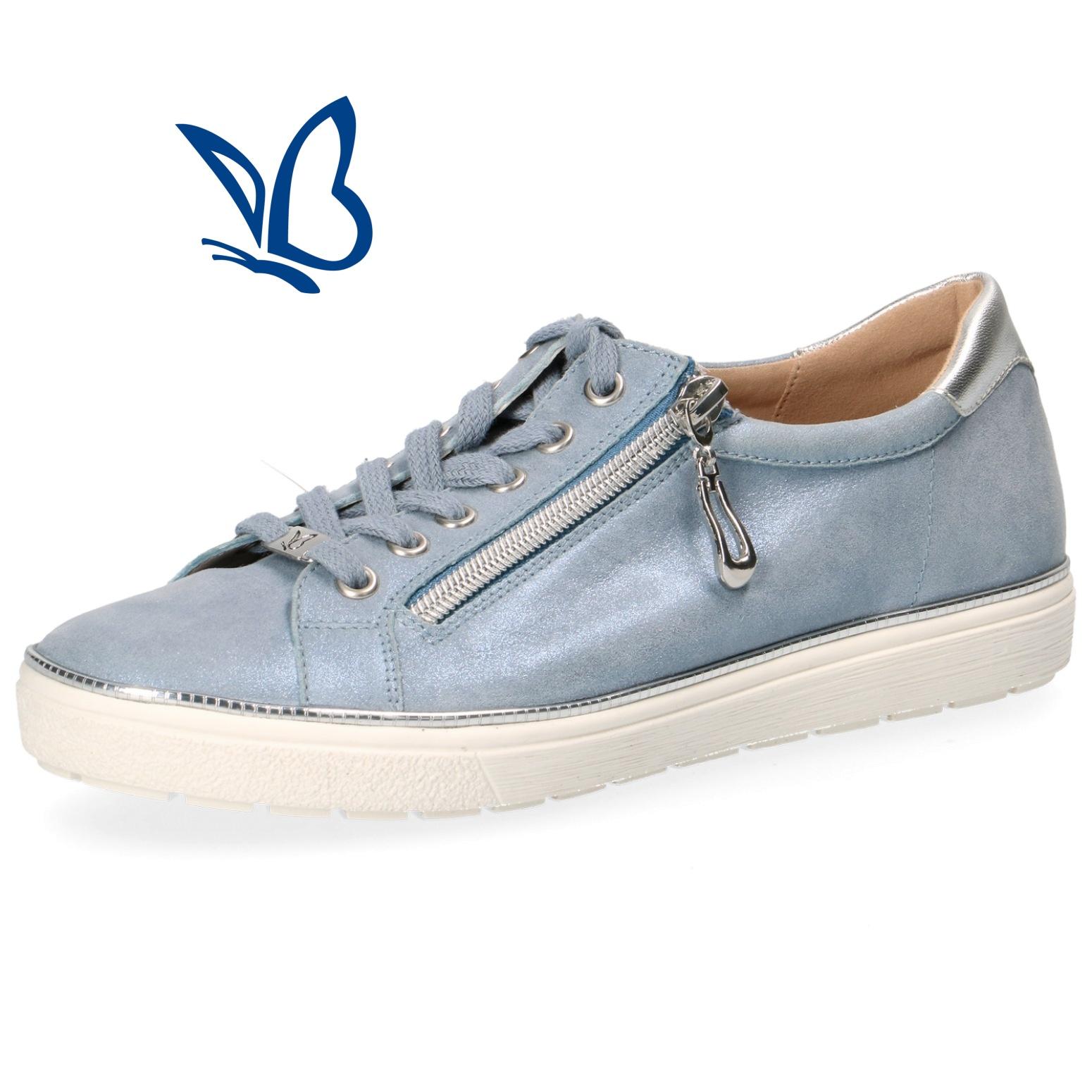 13d6766b26df Dámska vychádzková obuv CAPRICE 9-23606-22 861 BLUE SUE.MET. – Topánky  Olympia shoes