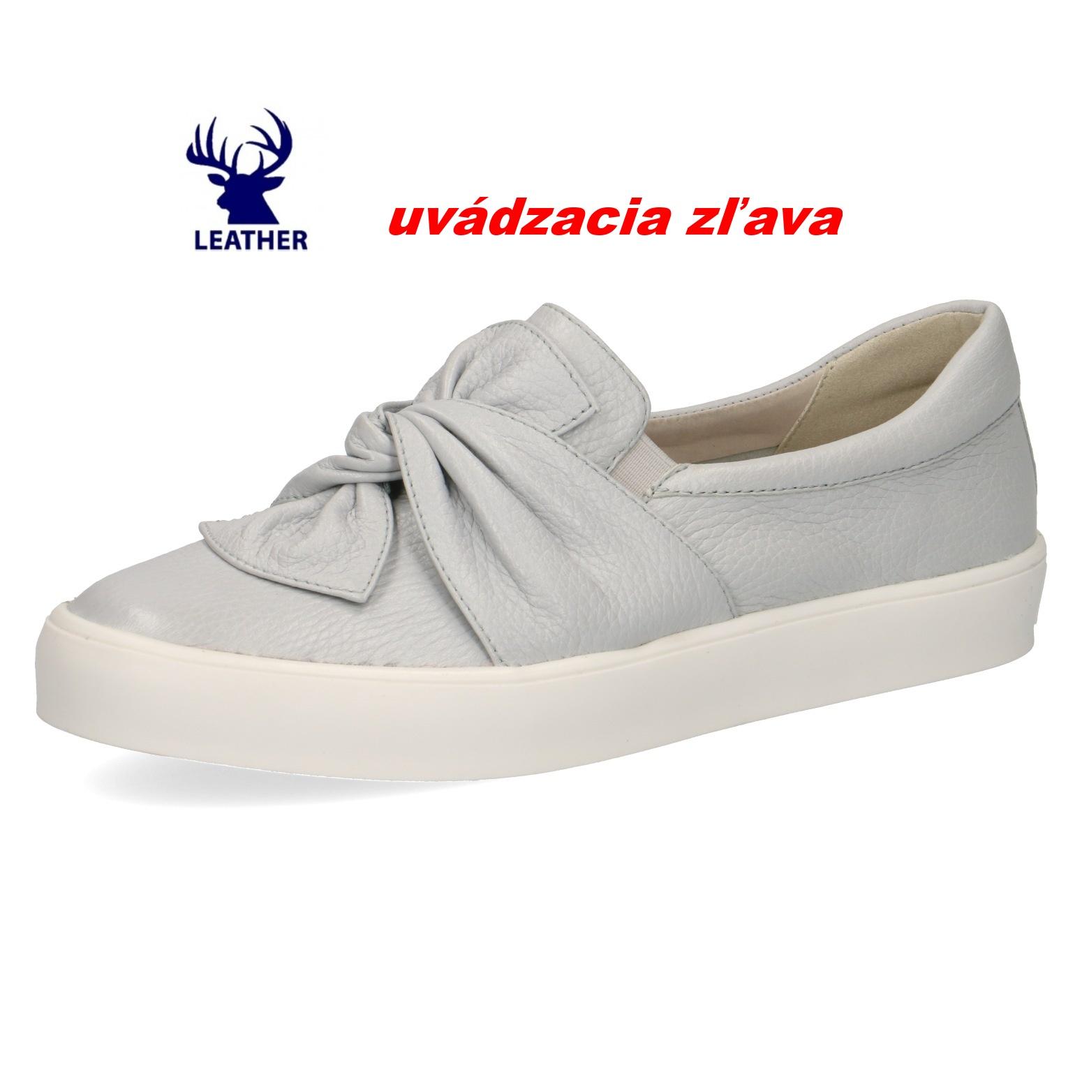 447261fada89 Dámska vychádzková obuv CAPRICE 9-24602-22 225 LT GREY DEER – Topánky  Olympia shoes